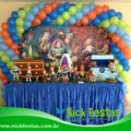 Mesa decorada infantil toy story