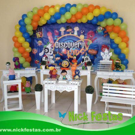 Mesa decorada provençal discovery kids