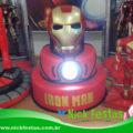 bolo cenográfico Homem de Ferro - Iron Man