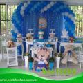 decoração provençal chá de bebê, festa infantil, locação de decoração provençal