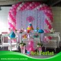 mesa decorada provençal Chuva de Amor